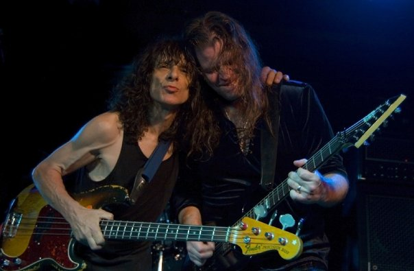 Burke Shelley & Craig Goldy